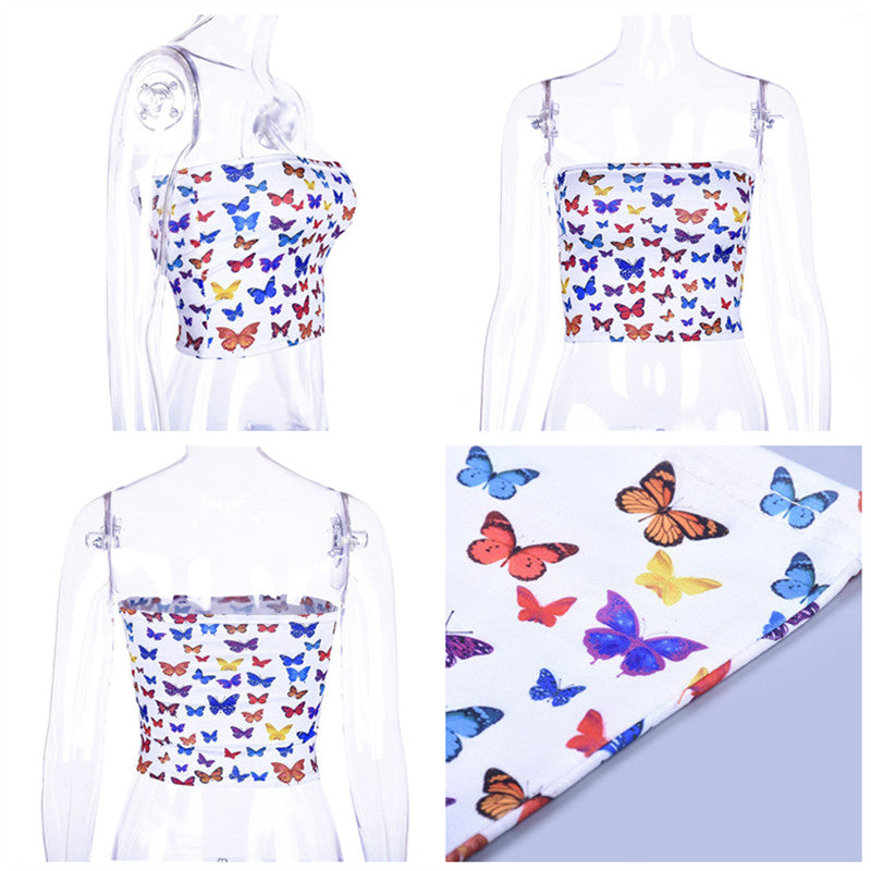 """COLORFUL BUTTERFLY"" TOP K052305"