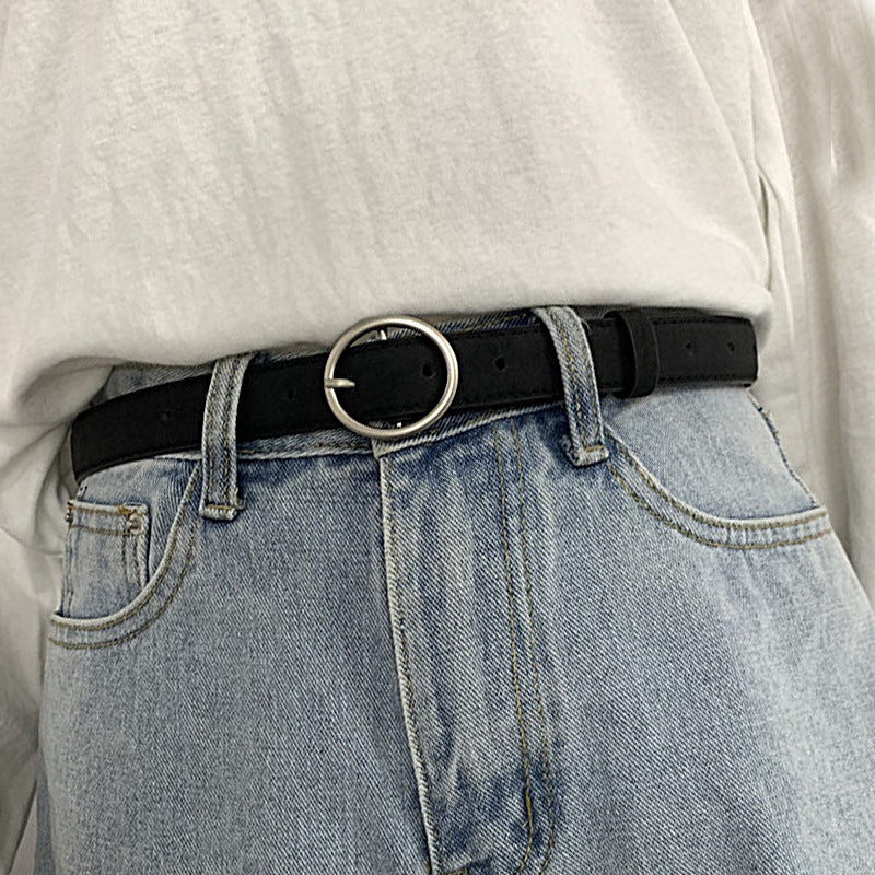 """RING BUCKLE"" BELT K092515"