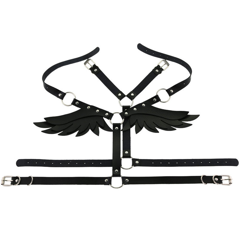 """Angel Wing"" Strap Set Body Straps Girdle Y040102"