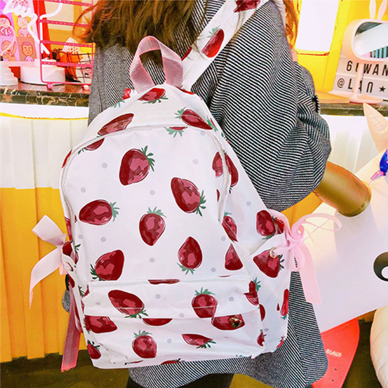 """STRAWBERRY"" BACKPACK W010449"