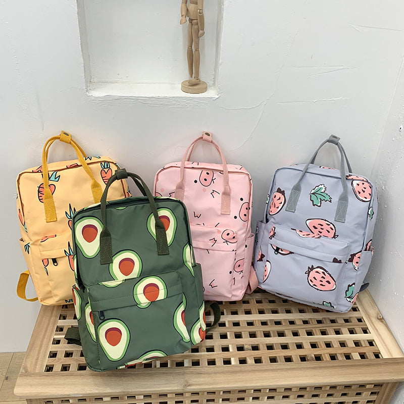 """CUTE PIG FRUITS"" BACKPACK K081101"