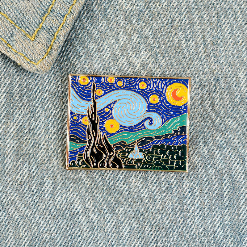 """STARRY NIGHT"" PIN Y021203"