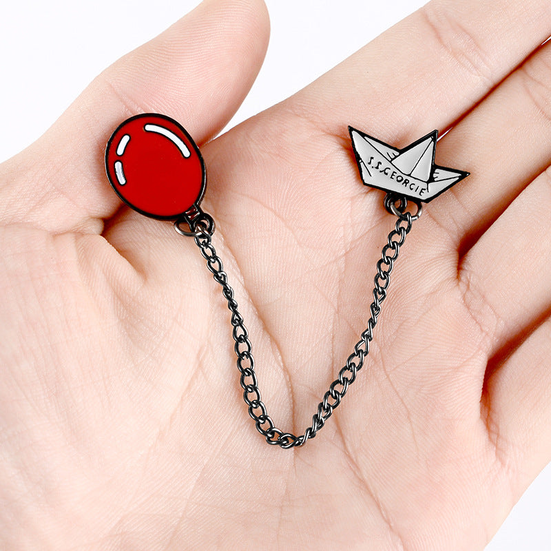 """RED BALLOON"" PIN Y021405"
