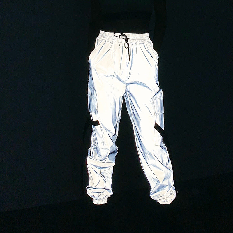 """HIP-HOP REFLECTIVE"" TROUSERS Y041003"