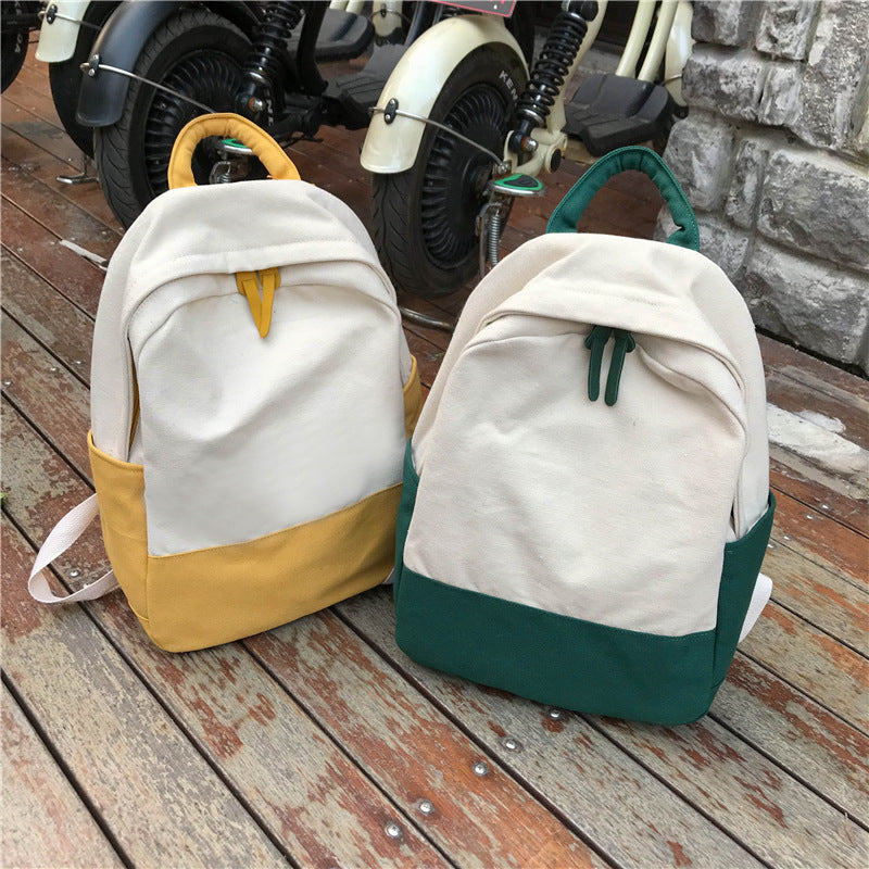 """CUTE PASTEL CANVAS"" BACKPACK K081103"
