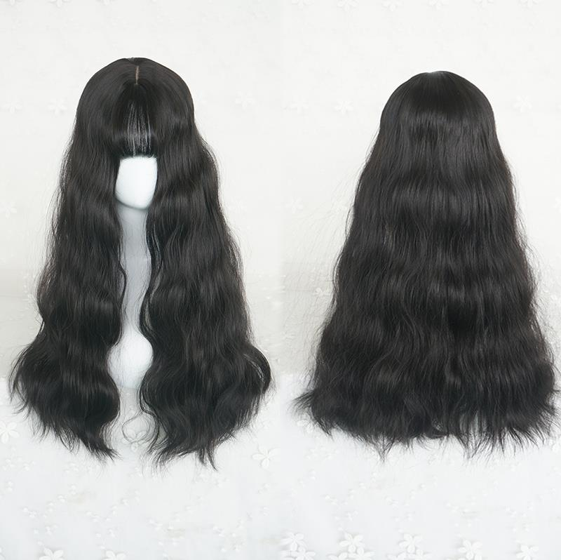 """4 COLORS CUTE NATURAL FLUFFY"" WIG K071705"