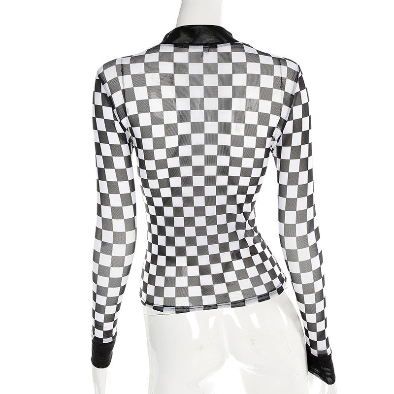 """CHECKERS"" T-SHIRT W010202"