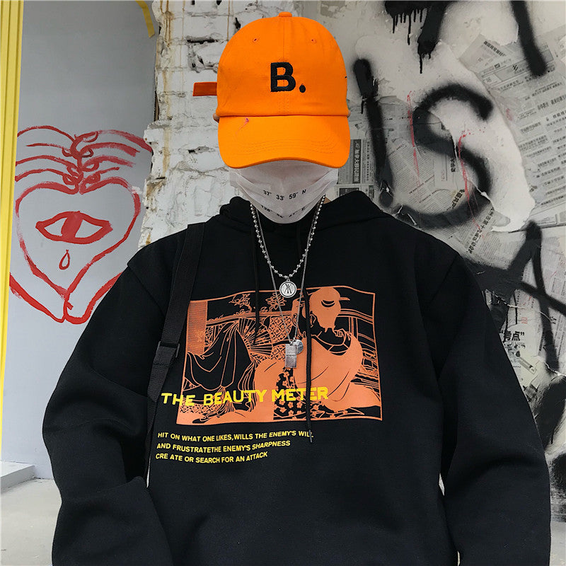 """THE BEAUTY METER"" HOODIE W010514"