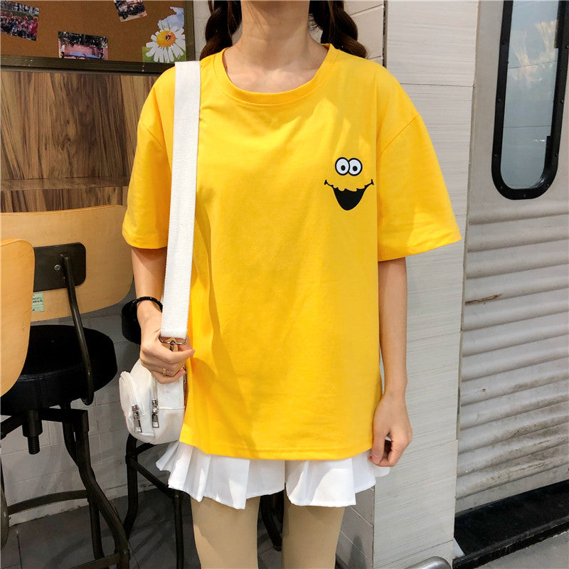 """SEASME STREET CARTOON"" T-SHIRT K072901"