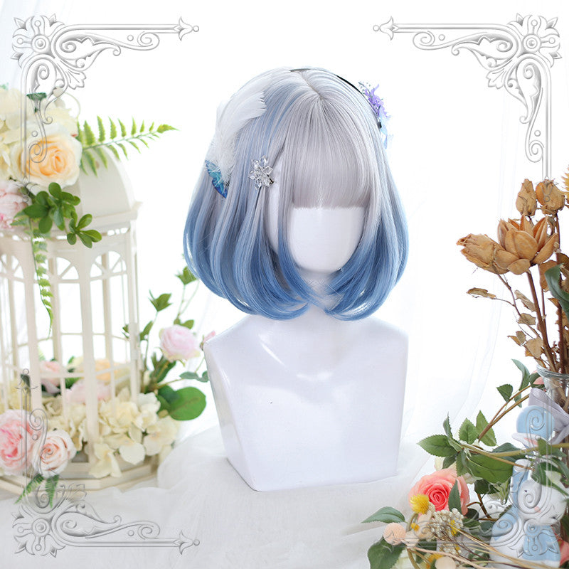 """3 COLORS LOLITA GRADIENT SHORT"" WIG Y040908"