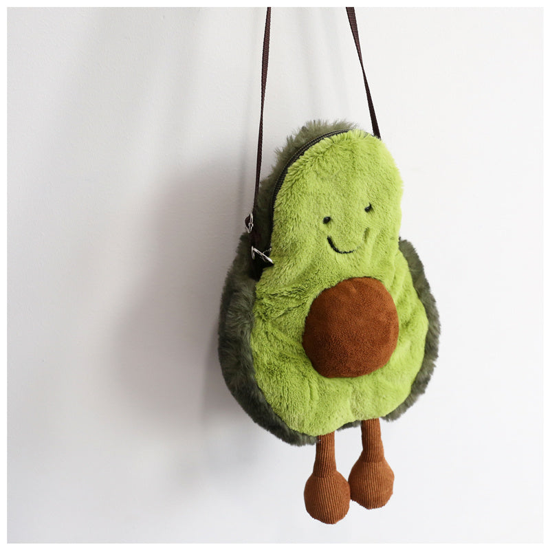 """GREEN AVOCADO"" BAG / COIN PURSE K081806"