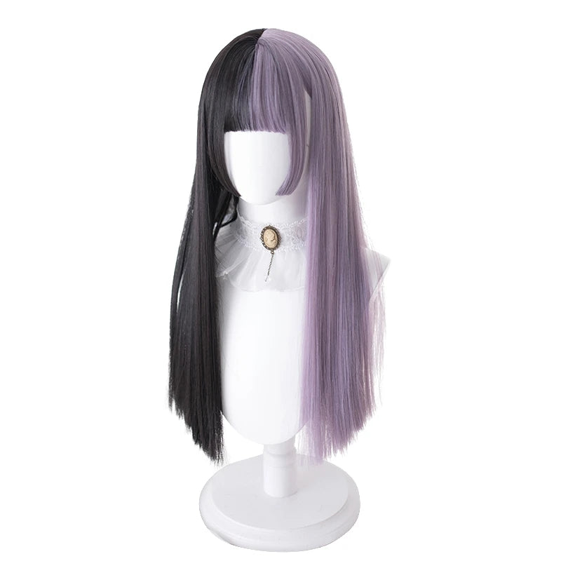 """MIXED COLOR LONG STRAIGHT"" WIG D041513"
