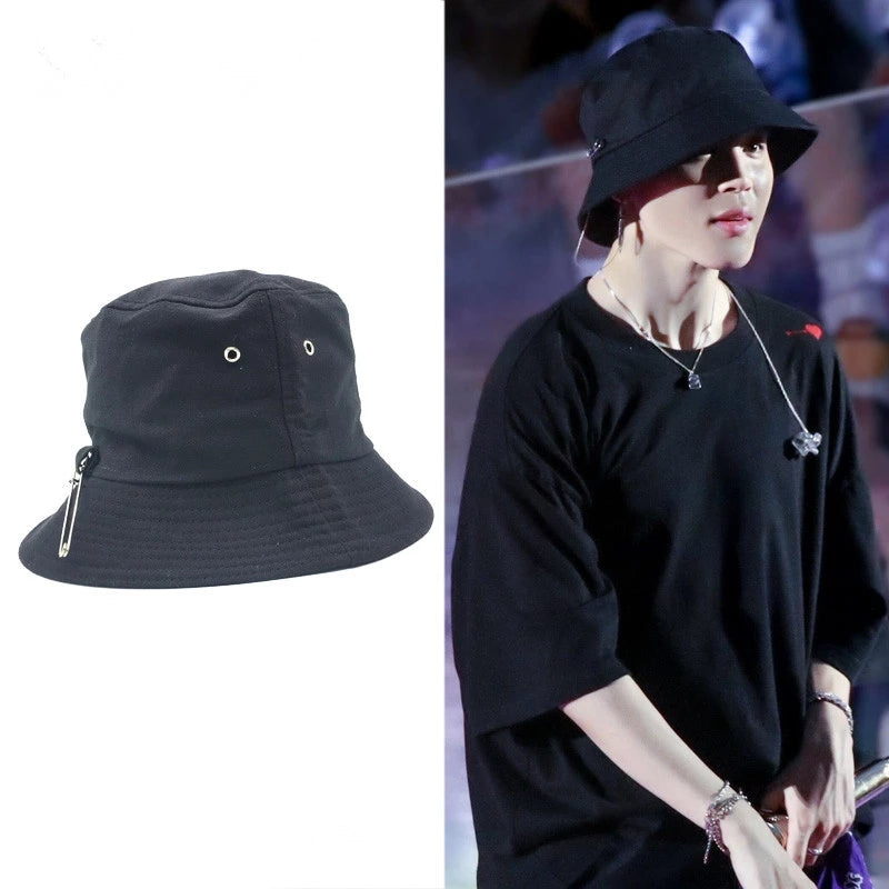 """BTS"" PIN SUN HAT K110703"