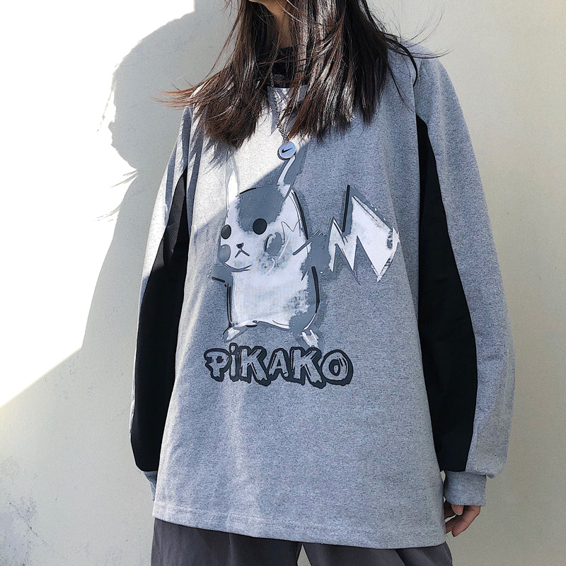 "[@lunasith] ""PIKACHU"" LONG SLEEVES Y031001REVIEW"