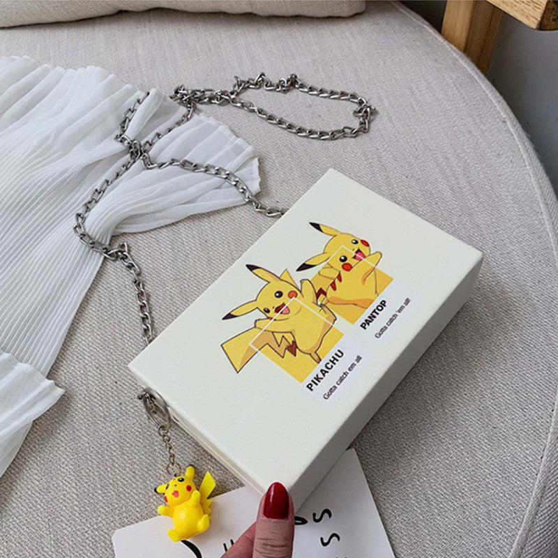 """PIKACHUCARTOON"" SMALL SQUARE BAG D050804"
