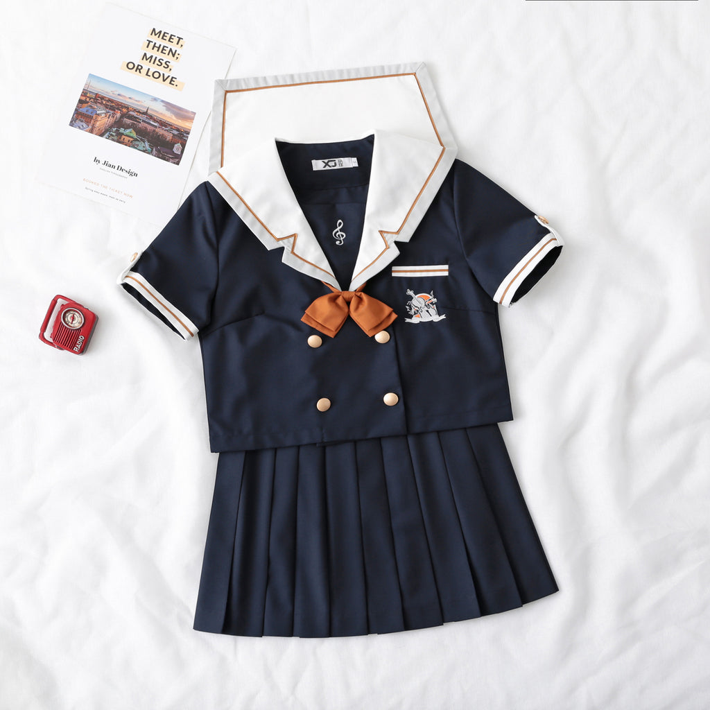 """JK PHANTOM MUSIC SHORT SLEEVE SAILOR"" SUIT N051302"