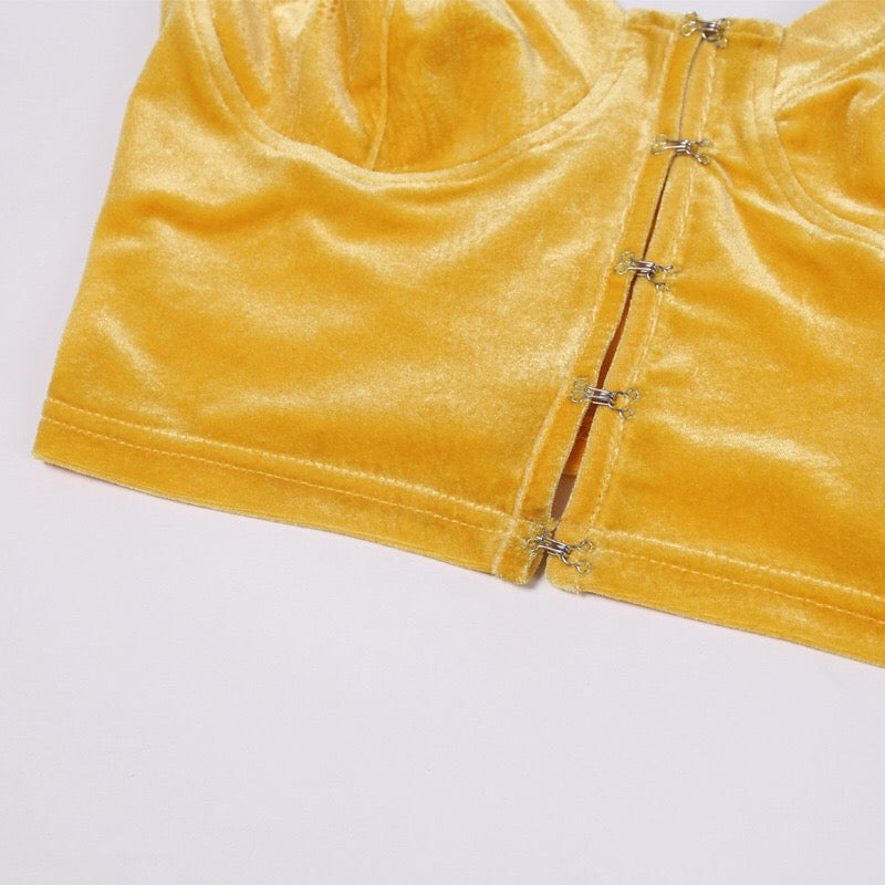 "'YELLOW VELVET"" TANK TOP K040101"