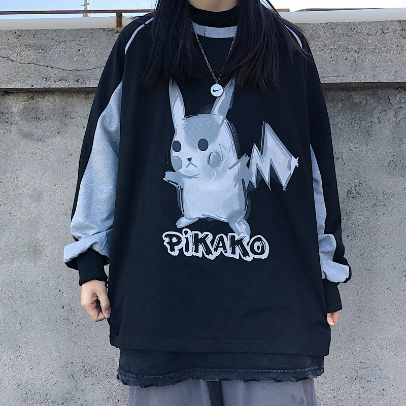 """PIKACHU"" LONG SLEEVES Y031001"
