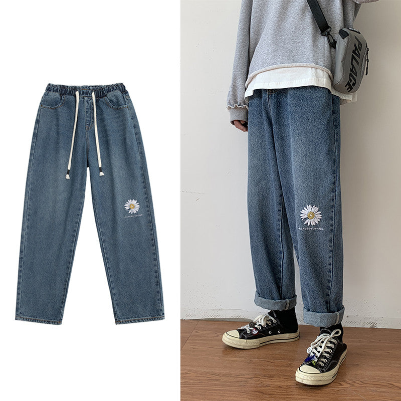 """DAISY HIGH WAIST STRAIGHT"" JEANS Y033002"