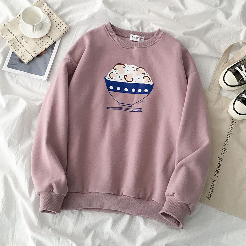 """CUTE PRINT"" SWEATSHIRT S031702"