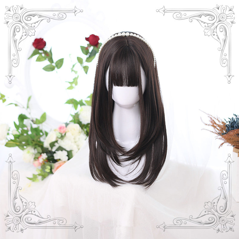 """3 COLORS LOLITA STRAIGHT"" WIG Y020802"