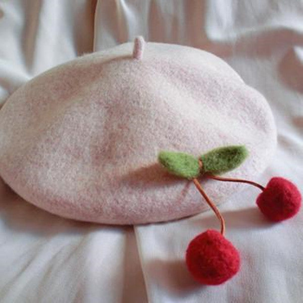 """JFASHION CHERRY"" BERET W010318"