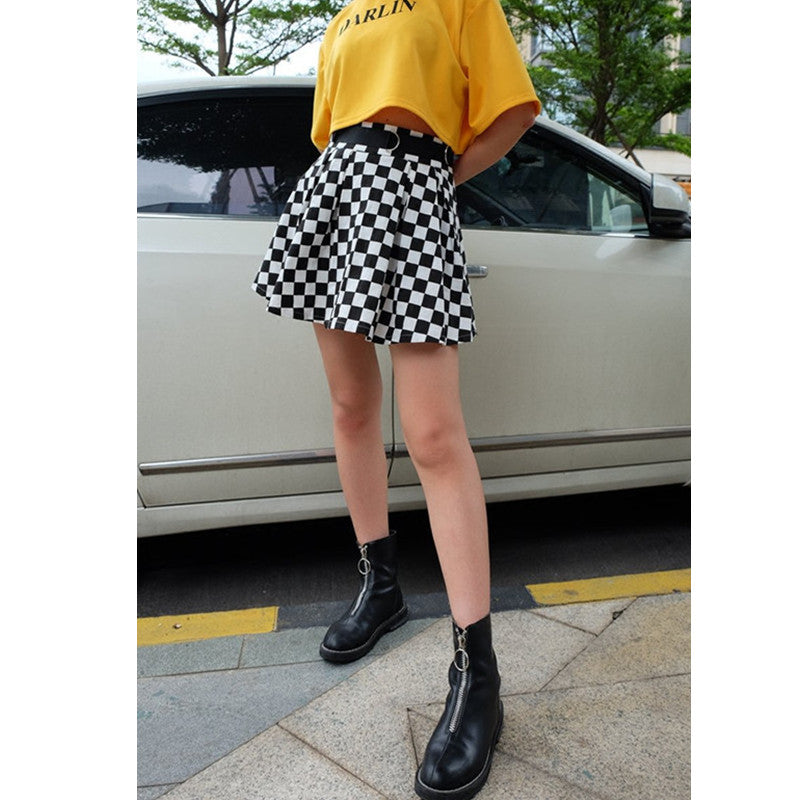 """CHECKERS"" SKIRT K022003"