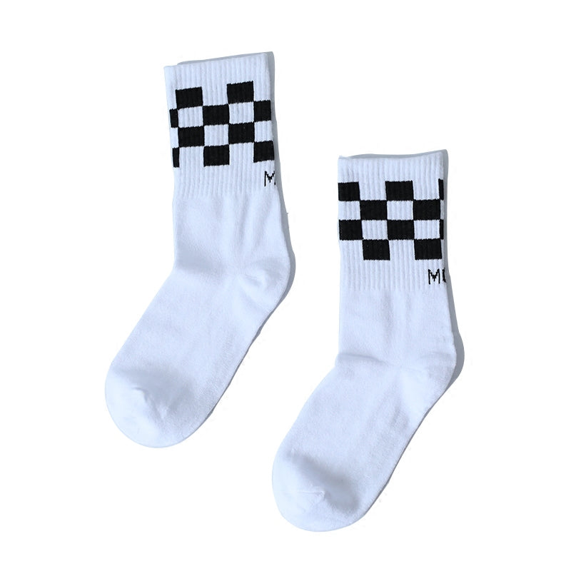 """CHECKERS""SOCKS $13.99 USD W010210"