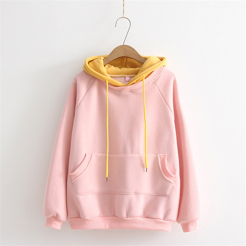 """TWO PASTEL"" HOODIES K072804"