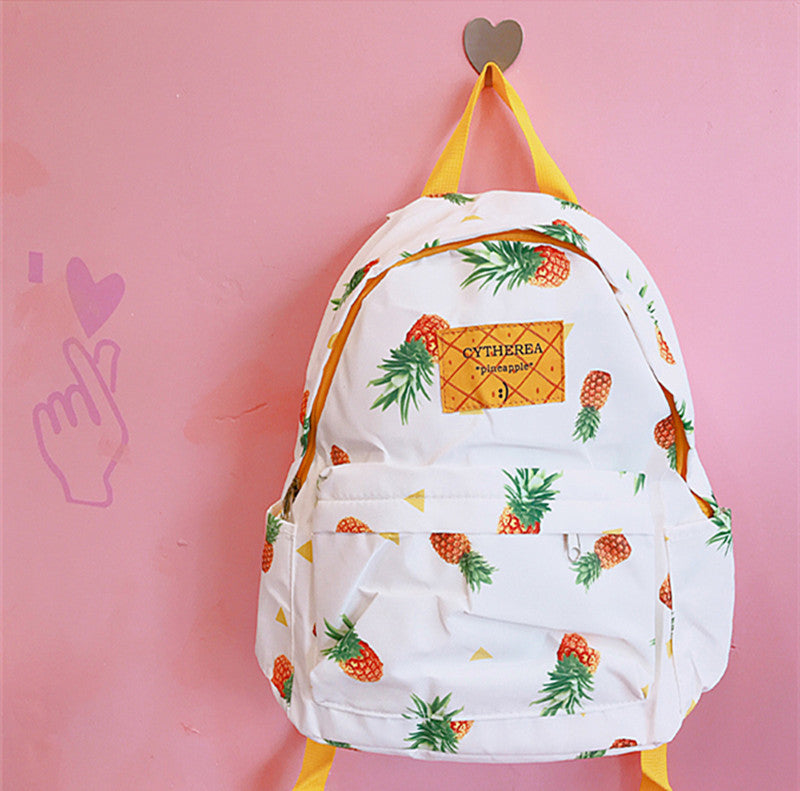 """PINEAPPLE"" BACKPACK W010407"