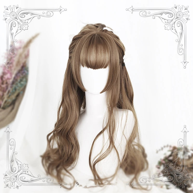 """3 COLORS LOLITA LONG CURLY"" WIG Y021708"