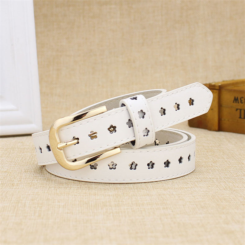"""CUTE FLOWER"" PU BELT K070906"
