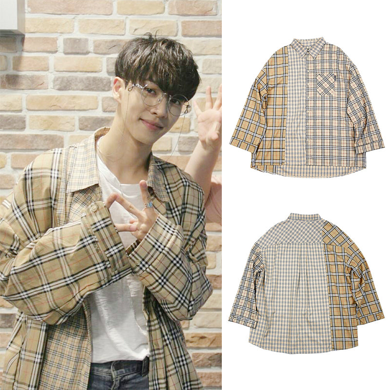 """PLAID"" SHIRT W010604"