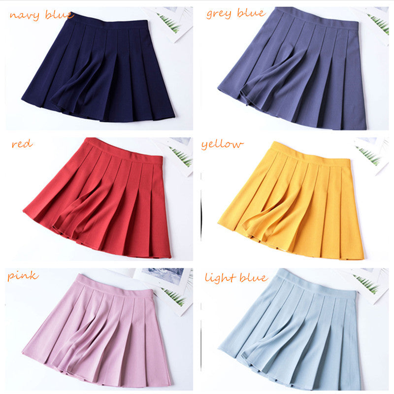 """CHIC STRETCH WAIST"" SKIRT K052607"
