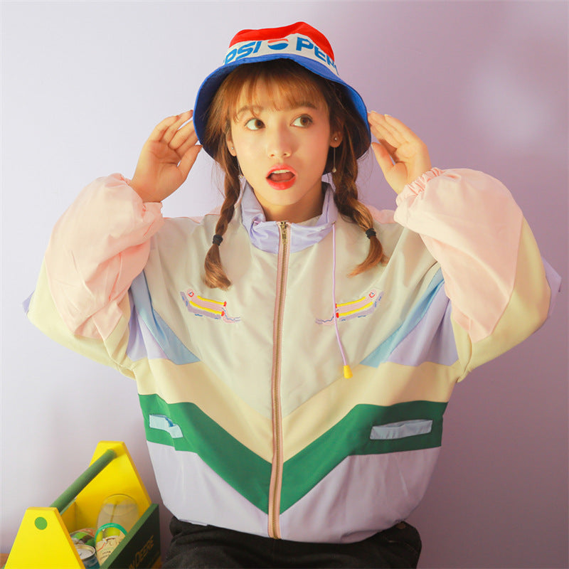 """COLORBLOCK"" JACKET K072702"