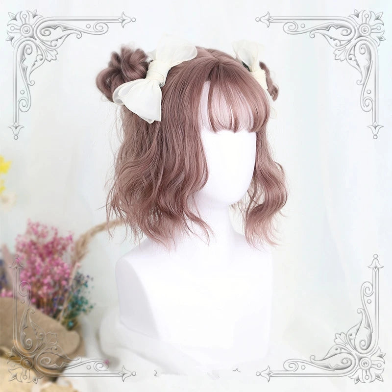 """ROSE GREY"" SHORT WIG K122808"