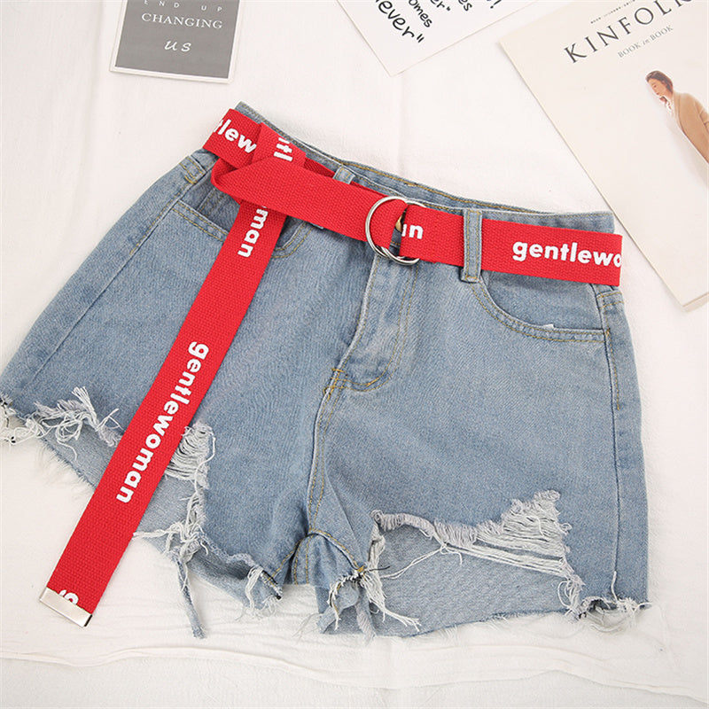 """GENTLEWOMEN"" CANVAS BELT K071503"