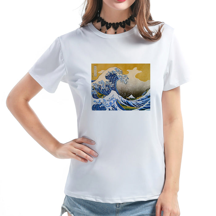 """GREAT WAVE"" SHIRT K030702"