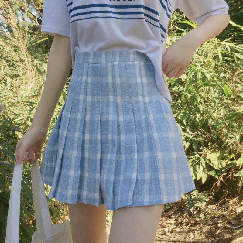 "[@milkiiprincess] ""PLAID"" SKIRT W010335REVIEW"