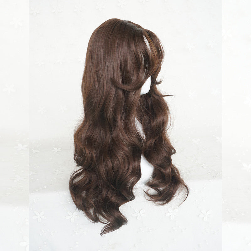 """KFASHION SWEET CHOCOLATE LONG CURLY"" WIG Y040312"