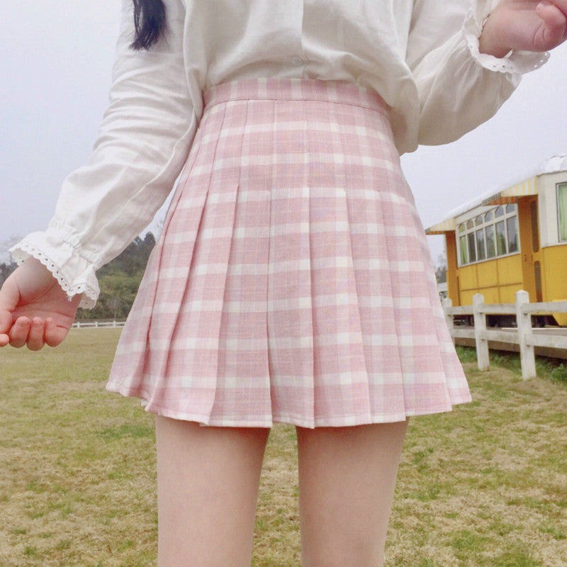 """PLAID"" SKIRT W010335"
