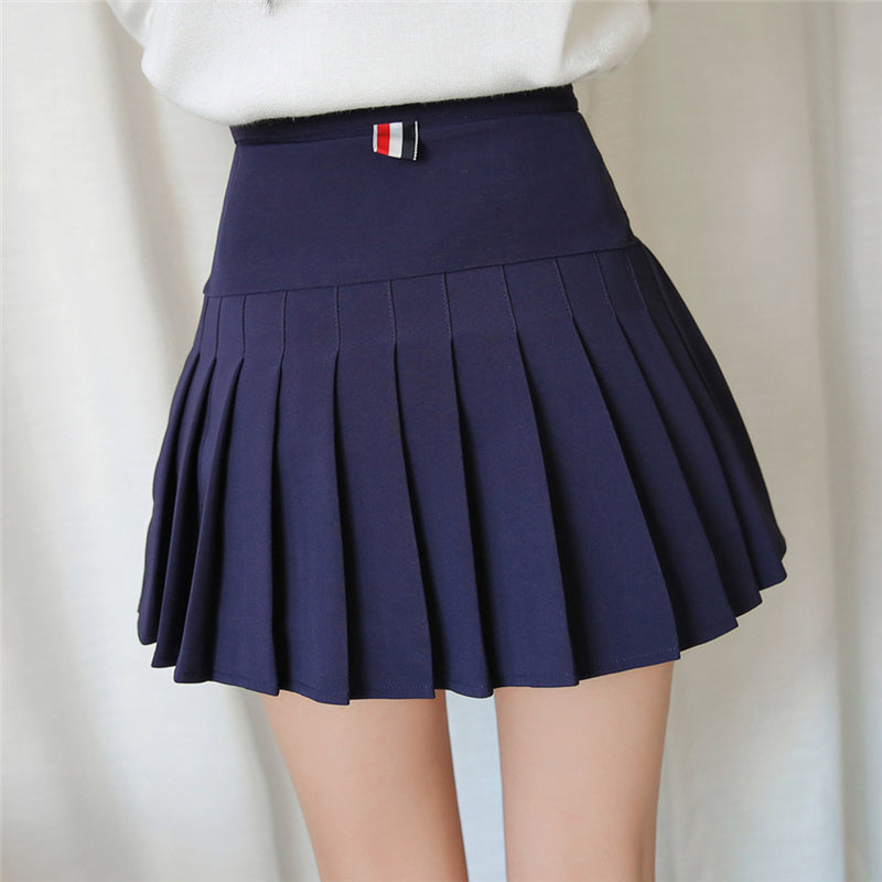 ULZZANG PLEATED SKIRT K032901