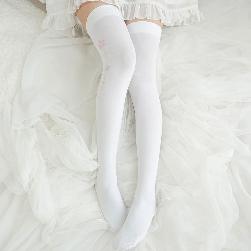 """WHITE CAT PAW"" SOCKS N102202"