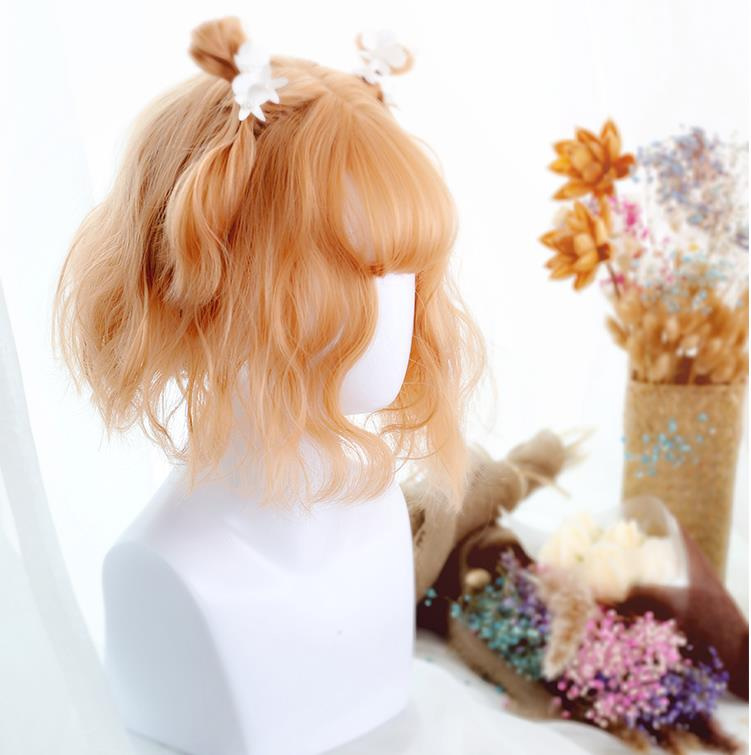 """GOLDEN AIR BANGS"" SHORT WIG K122807"