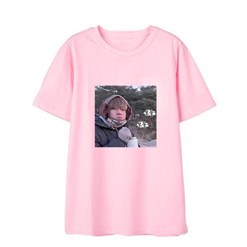 """COLD TAEHYUNG"" RUN BTS SHIRT W010217"