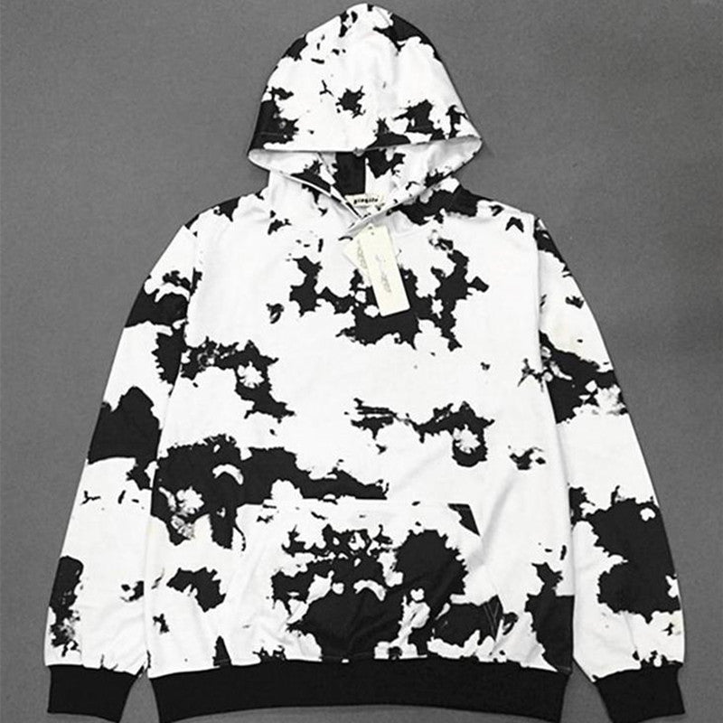"""BLACK AND WHITE"" HOODIE W010126"