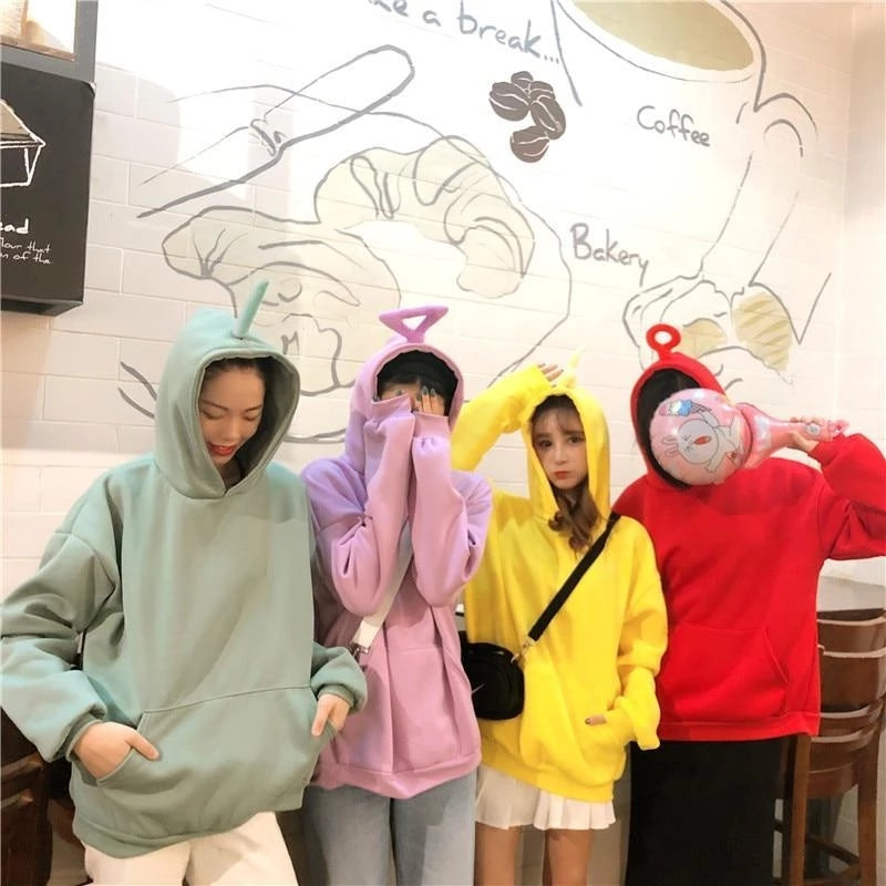 """CUTE TELETUBBY"" HOODIES K072403"