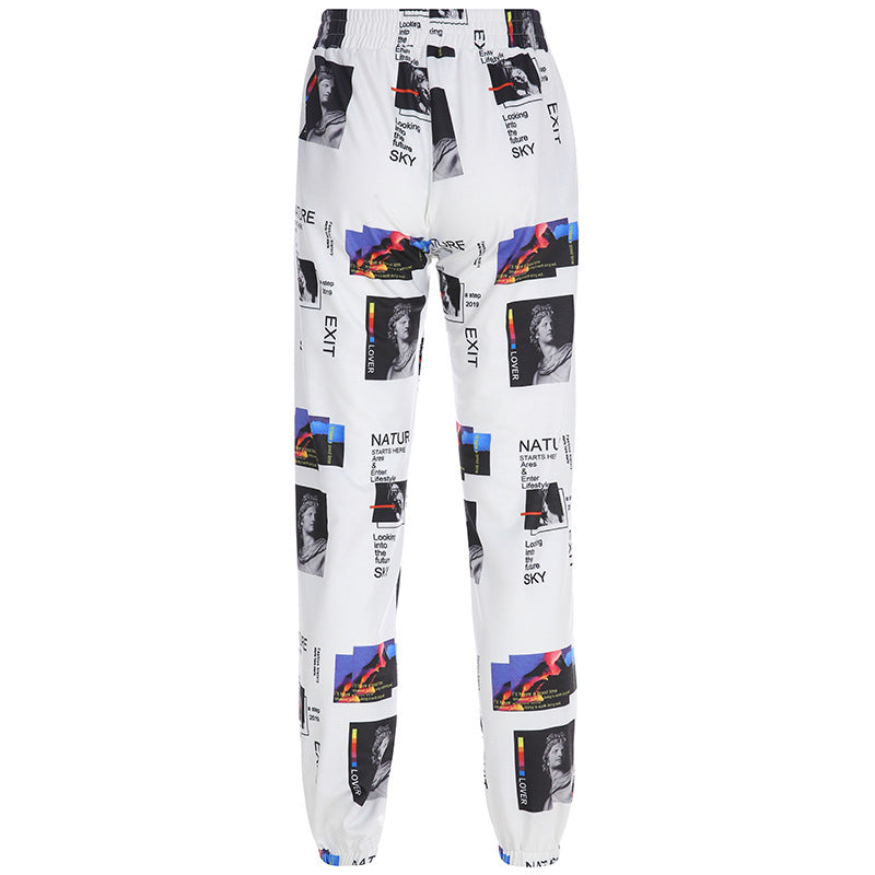 """CREATIVE ART ILLUSTRATIONS OVERALL"" PANTS W041802"