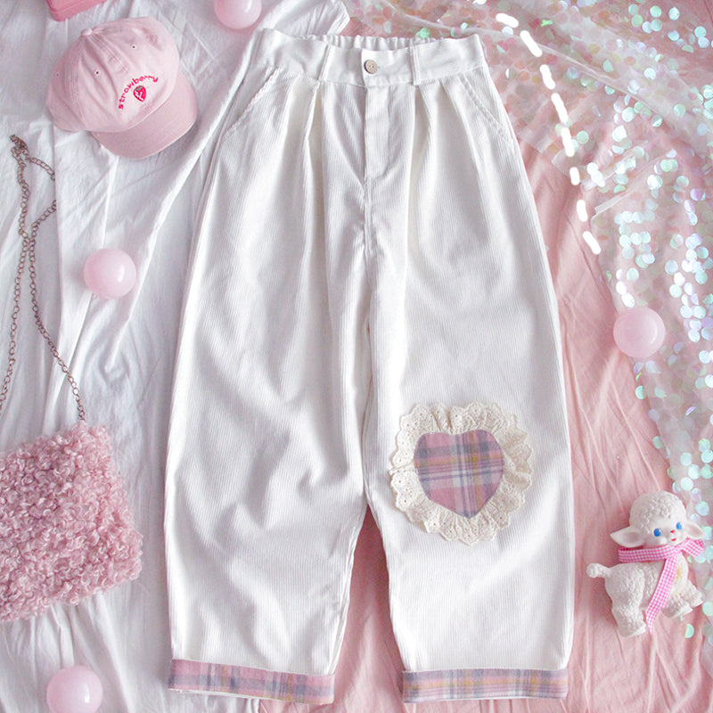 """LOVE FLOWERS"" PANTS W110612"