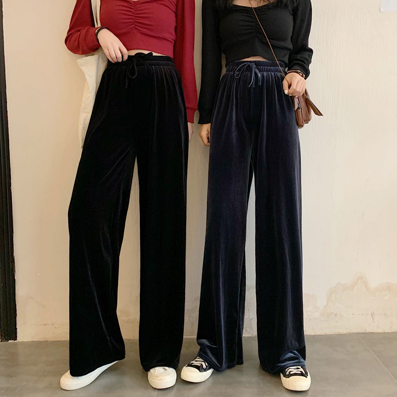 """LOOSE AND LAZY"" LOOSE PANTS S032601"